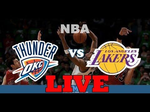 Los Angeles Lakers vs Oklahoma City Thunder - Live