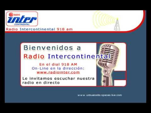 """Aquí Radio Intercontinental, Madrid"""