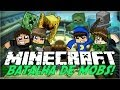 Minecraft: BATALHA DE MOBS! (Mini-Game)