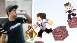 Minecraft: DESAFIO - MILK SHAKE DE PIMENTA ! - ‹ PORTUGAPC ›