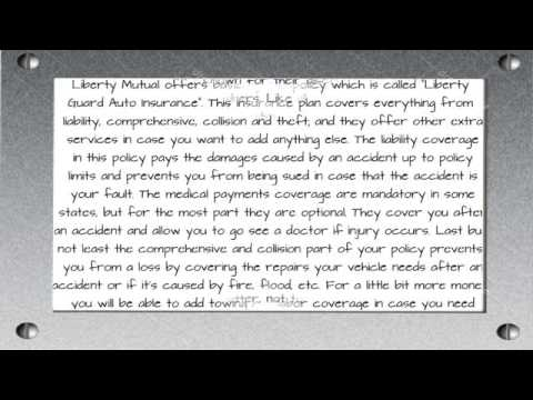 Liberty Mutual Auto Insurance Company Review | Auto Insurance 2014