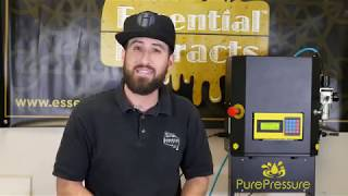 Live Hash Rosin Essential Extracts X Pure Pressure LLC