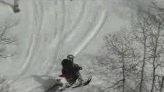 по снегу на мотоцикле