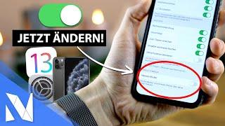 20+ iPhone Einstellungen, die du SOFORT ändern solltest! (iOS 13.x) | Nils-Hendrik Welk
