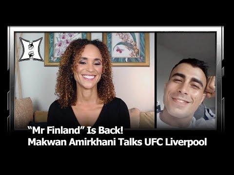 Makwan Amirkhani Says He Can Submit Cub Swanson; Talks UFC Liverpool Knight Match-Up