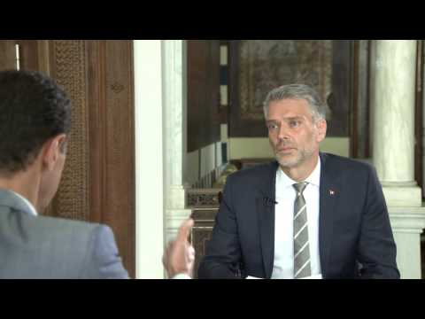 Bashar al-Assad speaks to Swiss television