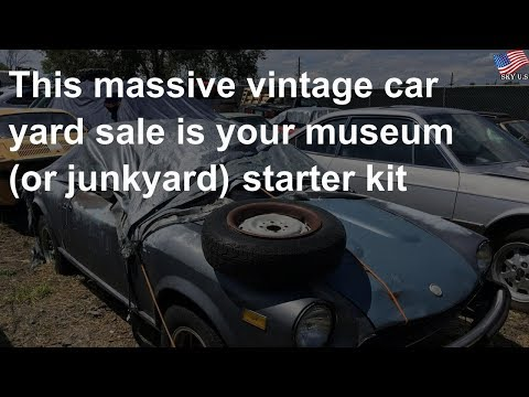 Classics: This massive vintage car yard sale is your museum
