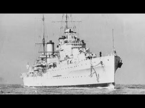 HMAS Sydney in the Mediterranean