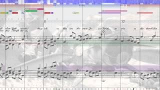 BWV 452 Dir, dir, Jehovah, will ich singen