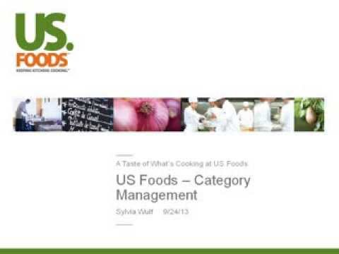 US Foods Dishes about Category Management