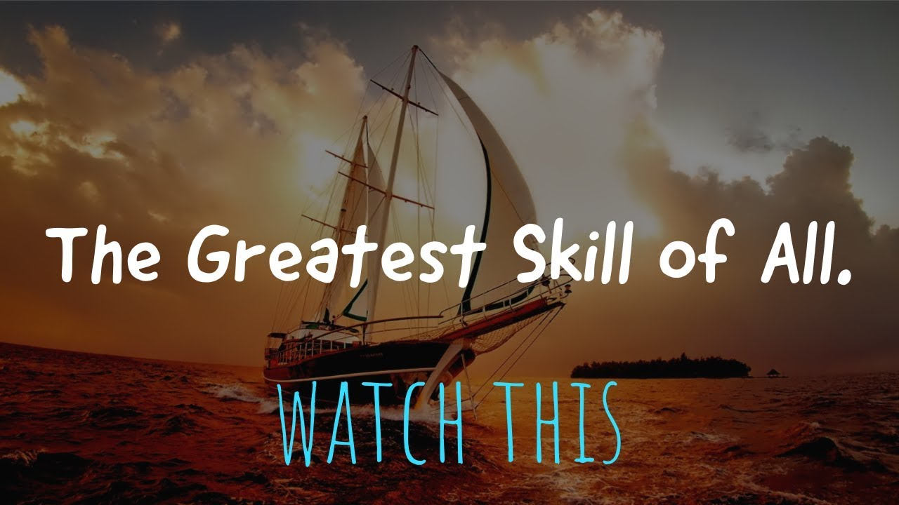 Alan Watts ~ The Greatest Skill of All
