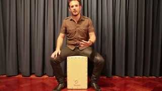INTERMEDIATE CAJON LESSON: 4-to-the floor Pop/Rock beat