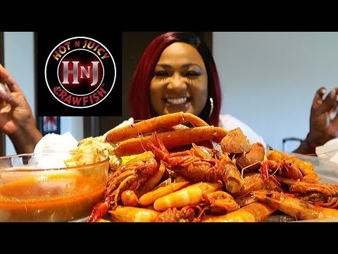 SEAFOOD BOIL MUKBANG , SNOW CRAB LEGS , HOT N JUICY CRAWFISH