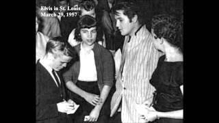Elvis interview; March 29, 1957 - St. Louis, Missouri