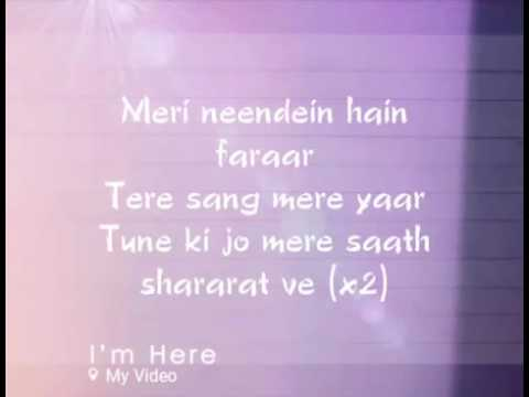Luv letter  song  lyrics (yashoda ...