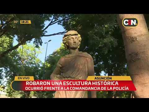 robaron-una-escultura-histórica-en-la-plaza-constitución-de-asunción