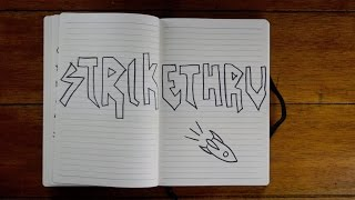 Strikethru   A New Way to Get Stuff Done