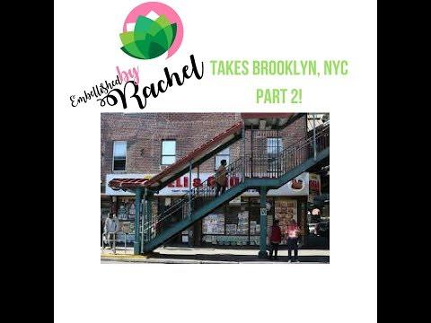 NYC TRIP: EWR to Brooklyn!