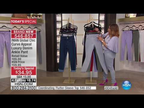 HSN | IMAN Global Chic Fashions 06.10.2017 - 05 PM