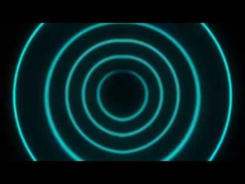 Free Neon Blue Intro Circle Beat Background
