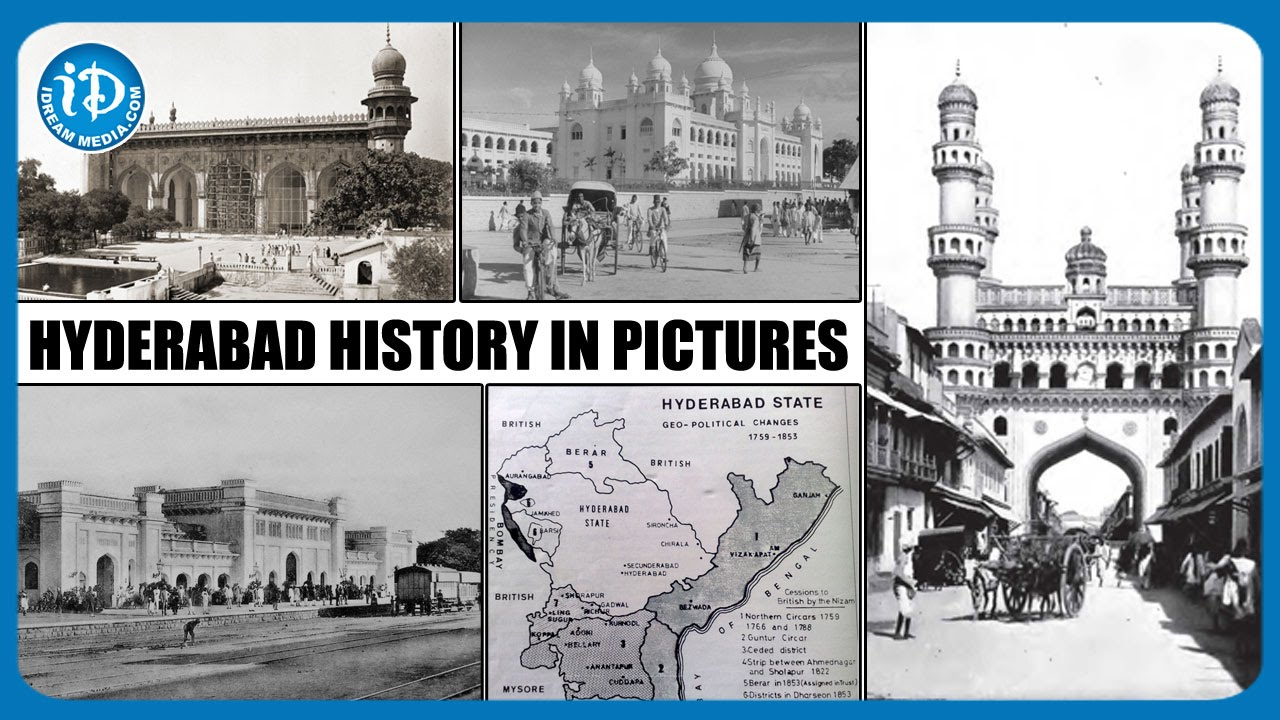 Hyderabad History in Pictures | Ancient Hyderabad Unveiled