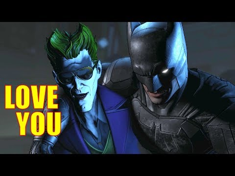 Batman Express His Feelings To Joker - The Enemy Within Same Stitch GameModed