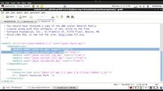 JBoss EAP - 43 Classpath Modules