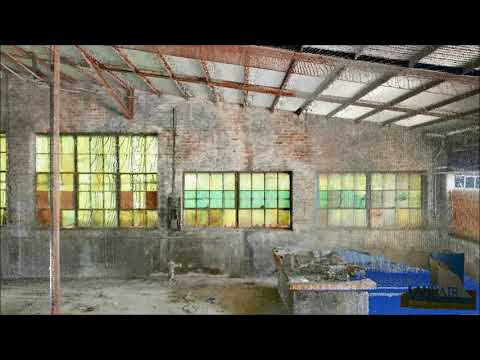 Light Industrial Facility Pointcloud Flythrough
