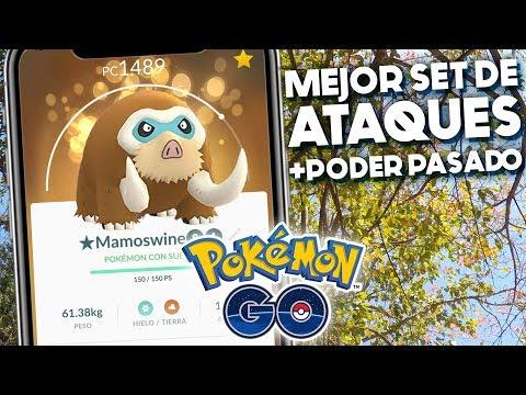 MEJOR SET PARA MAMOSWINE + PODER PASADO   1065   POKEMON GO thumbnail
