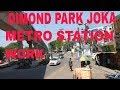 Capture de la vidéo Dimond Park Joka Metro Station New Work Kolkata