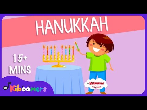 15 Mins Hanukkah Songs for Children | Chanukah | The Kiboomers