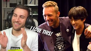 THIS MAKES ME HAPPY! [BANGTAN BOMB] Meeting with Coldplay - …