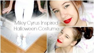 Miley Cyrus Halloween Costume | Hair, Makeup & Outfit | BeautyByNeomi04 Thumbnail