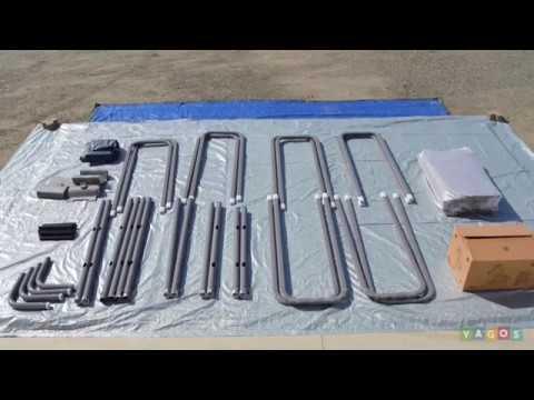 bestway steel pro rectangular frame pool instructions