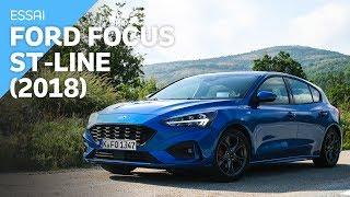 Essai Ford Focus ST-Line (2018) 182 ch