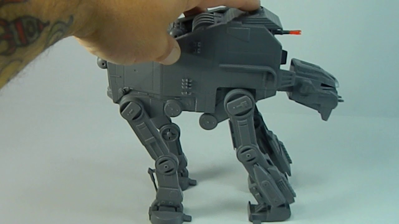 Star Wars The Last Jedi Build /& Play Snap First Order Heavy Assault AT-M6 Walker w//Sound