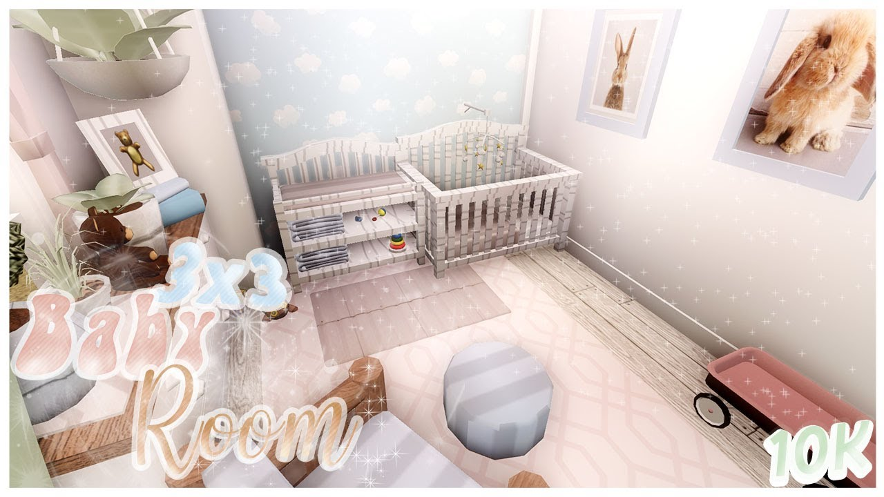 Roblox - Bloxburg: Baby Room 👶 | Bedroom Build - YouTube