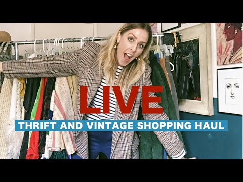 LIVE// THRIFT AND VINTAGE HAUL