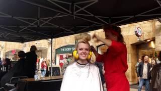 układanie włosów sprężonym powietrzem. AIR Hairdressing