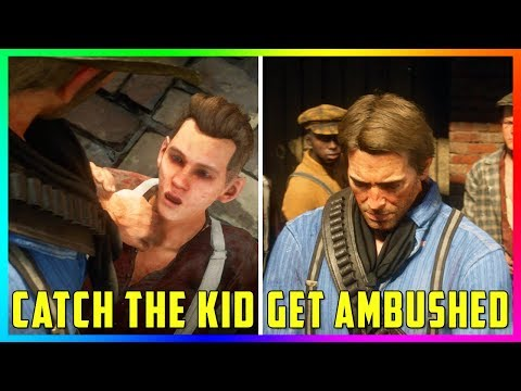 What Happens If You Catch The Kid That Took Arthurs Money Or Get Ambushed In Red Dead Redemption 2?