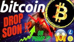 DROP TODAY FOR BITCOIN LITECOIN and ETHEREUM!!??Crypto TA price prediction, analysis, news, trading