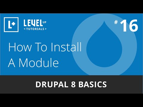 drupal-8-basics-#16---how-to-install-a-module