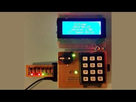 Raspberry Pi Timer - Python Tutorial