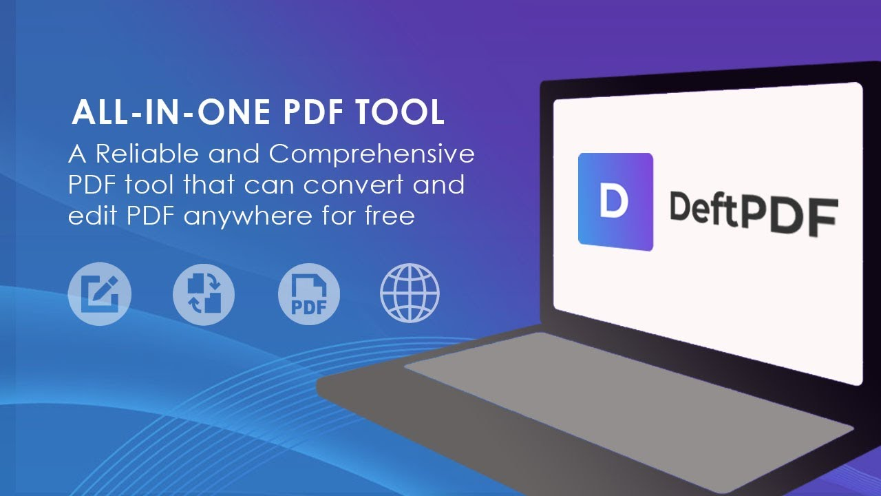 Discover DeftPDF Anywhere - Free PDF Online Software with No Watermark!