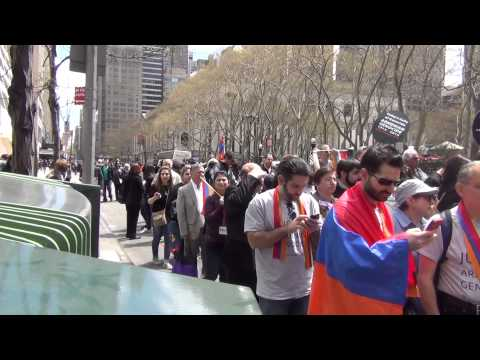 100th Anniversary of Armenian Genocide (NYC)