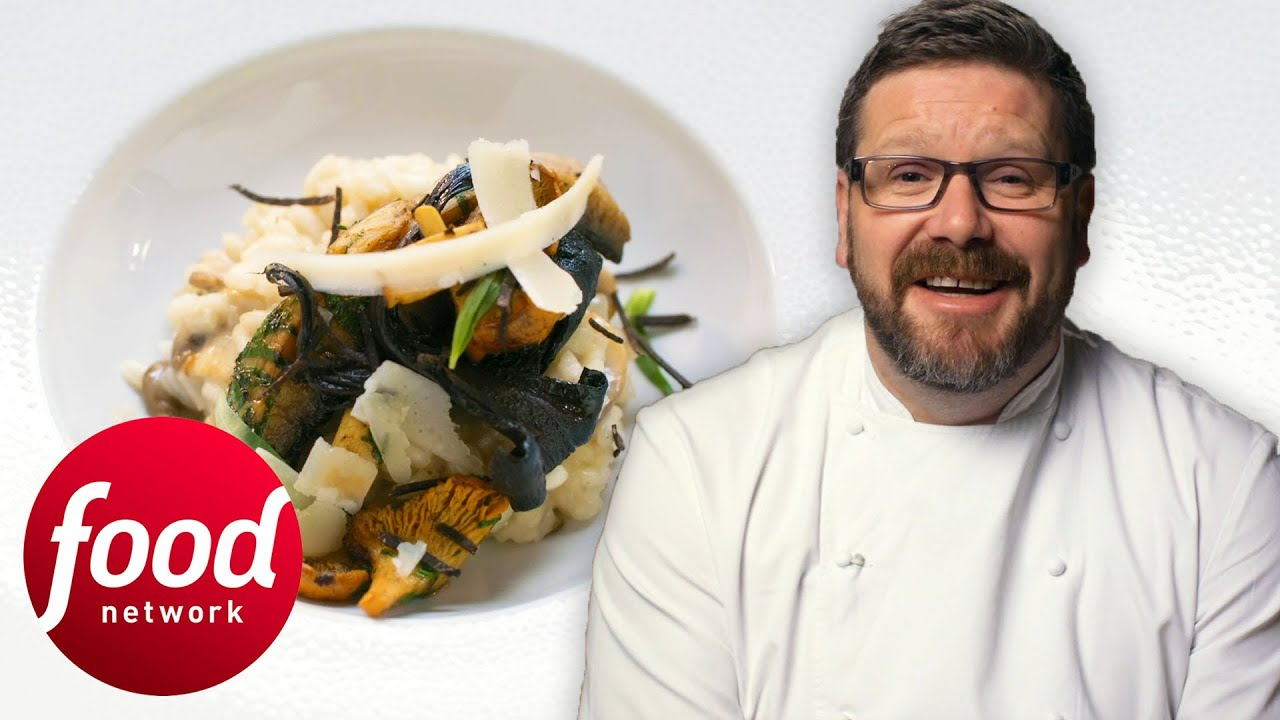 Chef Daniel Clifford Makes A Quick And Delicious Wild Mushroom Risotto | My Greatest Dishes