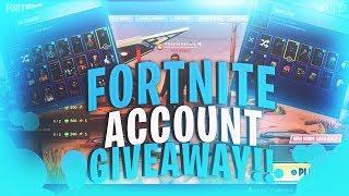 Fortnite epic account giveaway!