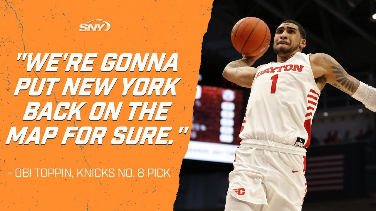 Toppin wants to put Knicks 'back on the map'