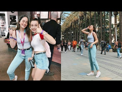 A Day in the Life of a Teenage Youtuber in LA (surprising my best friend) | Vidcon Vlog