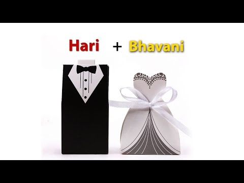 Hari + Bhavani Wedding Invitation
